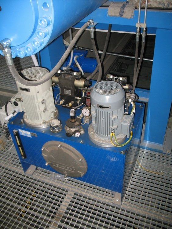 Hydraulic station for filter press<br />
